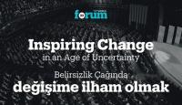 TRT World Forum: İstanbul'dan dünya'ya değişim ilhamı