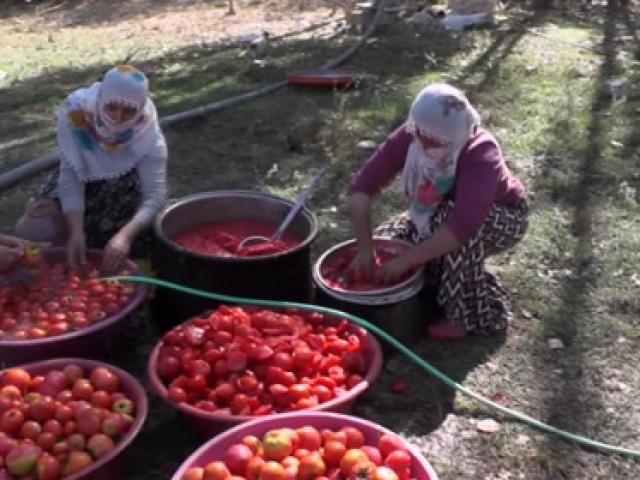 Erzurumda kış hazırlığı