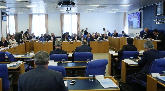 Plan ve Bütçe Komisyonnda 114 madde kabul edildi