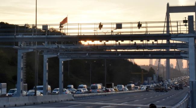 FSM Köprüsünde çalışmalar tamamlandı; trafik normale döndü