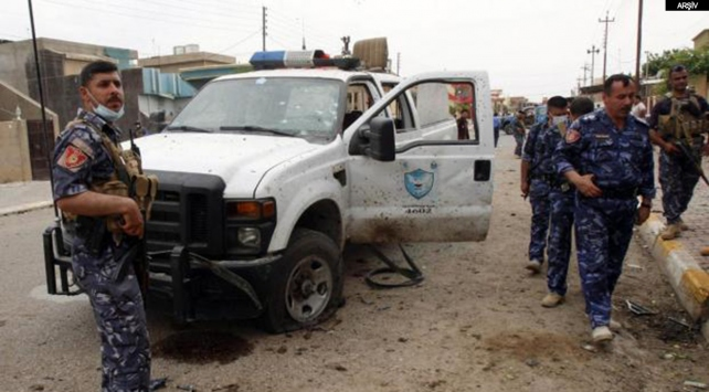 Kerkükte terörle mücadele polislerine silahlı saldırı: 1 ölü, 4 yaralı