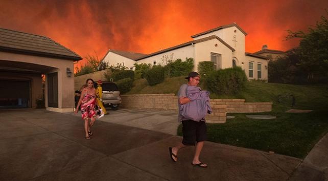 California yangını ABDye pahalıya patladı