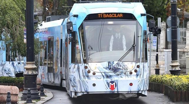 İstanbulda tramvay hattındaki arıza giderildi