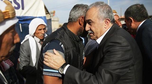Bakan Fakıbabadan acılı ailelere taziye ziyareti