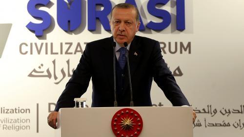 Erdoğan: Trump medeniyet olayını şekil olarak değerlendiren bir tipolojidir