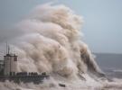 İngiltere'de fırtına alarmı: Dev dalgalar oluştu