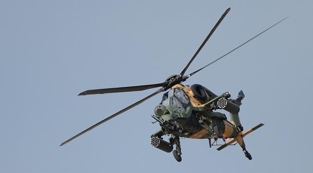 PKKlı terörist ATAK taarruz helikopterleriyle etkisiz hale getirildi