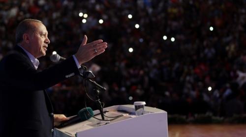 Cumhurbaşkanı Erdoğan: Nerede bize yönelik taciz varsa bir gece ansızın vurabiliriz
