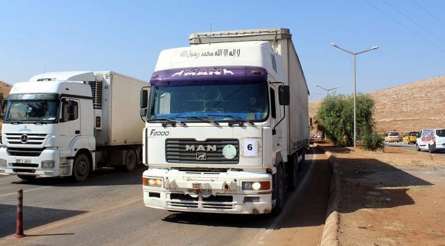 BMden İdlibe 18 tır insani yardım