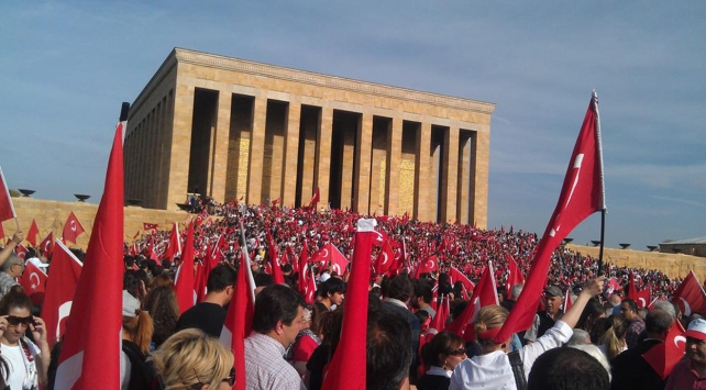 Bakanlardan 29 Ekim Cumhuriyet Bayramı mesajı