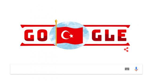 Google Cumhuriyet Bayramını kutladı
