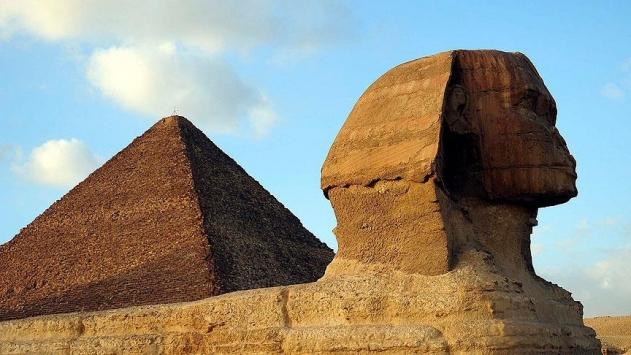 Mısır piramitlerinde gizemli keşif