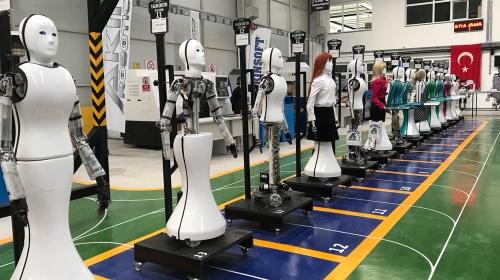 İnsansı robot fabrikası