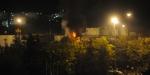 Kimyasal ve petrol ürünleri deposunda yangın