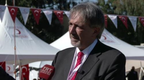 'Türk Kızılayı muhteşem bir iş başarıyor'