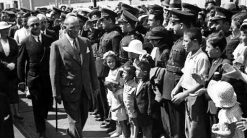 Atatürkün az bilinen fotoğrafları ortaya çıktı