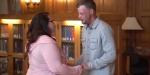 Kocasının yüzünü bağışlayan kadının duygusal anları