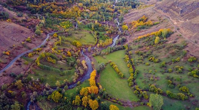 Türkiyeden büyüleyici sonbahar manzaraları