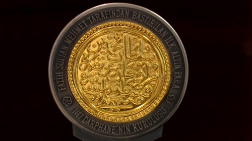 Darphane 550'nci kuruluş yılı nedeniyle hatıra para bastırdı