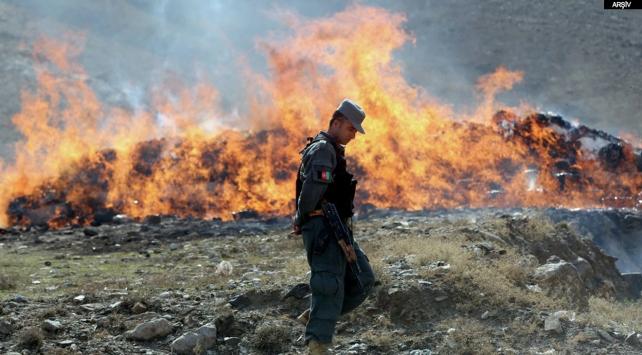 23 ton uyuşturucu madde yakılarak imha edildi