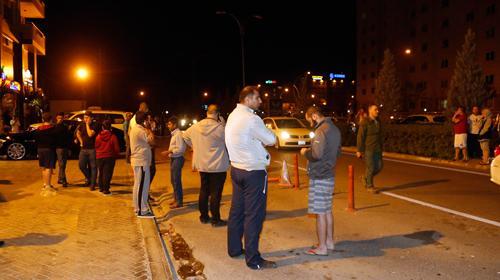 Iraktaki deprem Erbilde paniğe neden oldu