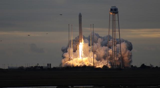 Cygnus kargo mekiği uzaya fırlatıldı