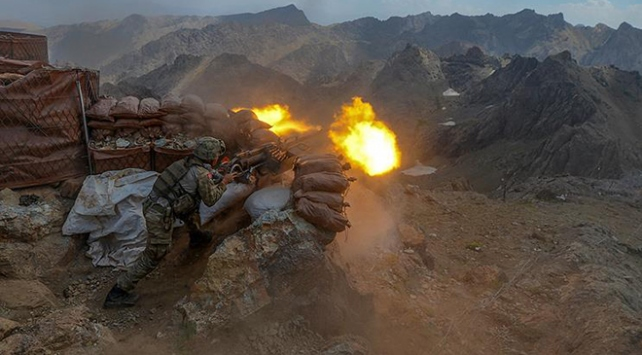 PKKya ağır darbe: 38 terörist etkisiz hale getirildi