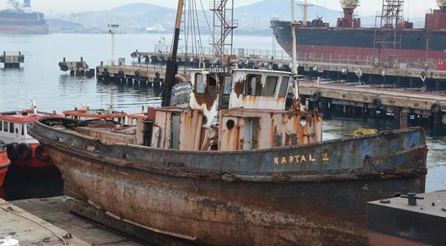 """Tarihe ışık tutan gemi """"Kartal"""" restore edilecek"""