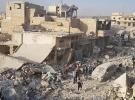 Halep'te pazar yeri bombalandı En az 10 ölü 50 yaralı