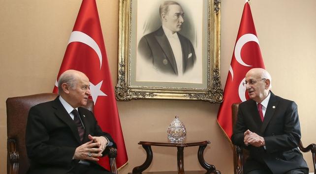 Kahraman, Bahçeliden Meclis başkanlığı seçimi için destek istedi