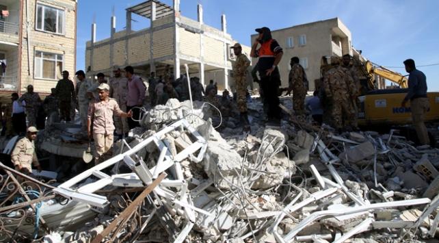 İranda depremde hayatını kaybedenlerin sayısı 530a yükseldi