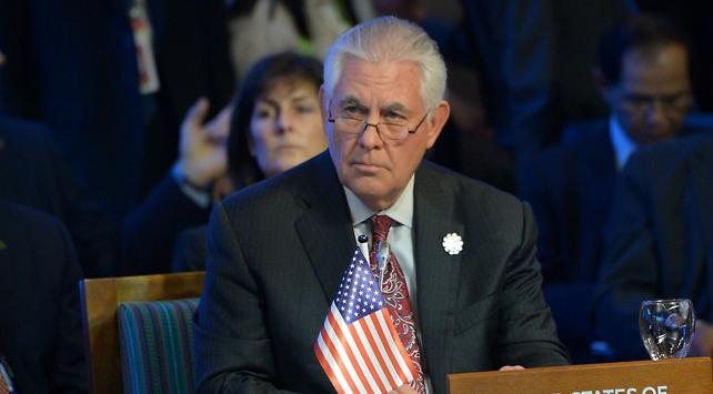 ABD Dışişleri Bakanı Tillersondan Suriye açıklaması
