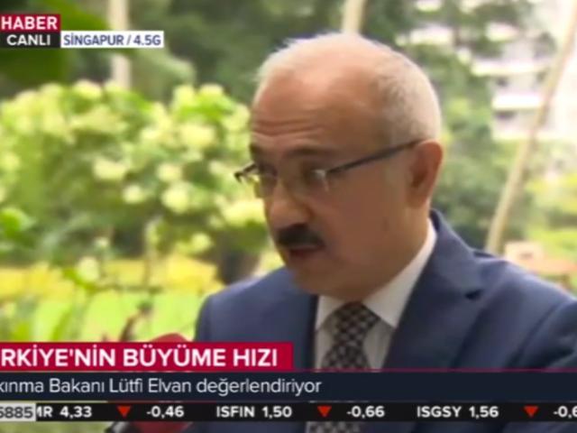 Kalkınma Bakanı Elvan: Büyüme hedefimizi 5,5 olarak hedefliyoruz