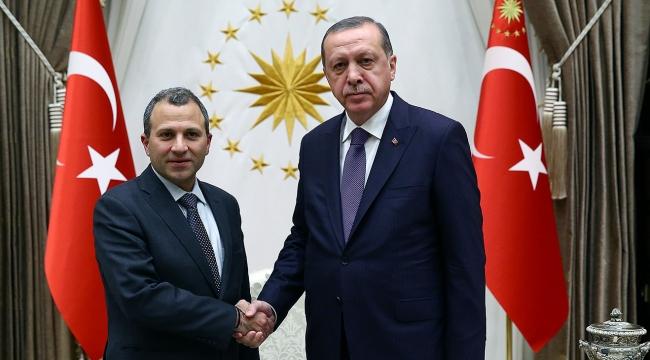 Cumhurbaşkanı Erdoğan, Lübnan Dışişleri Bakanı Bassili kabul etti