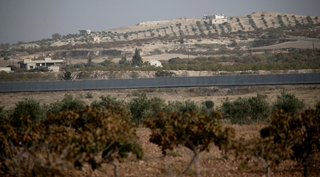 Sınır hattına örülen güvenlik duvarında sona yaklaşıldı