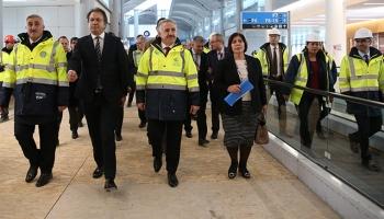 3. havalimanında çalışmalar hızla sürüyor
