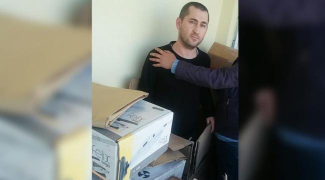 Koli içerisinde yakalanan eski yüzbaşıya 12 yıl ceza