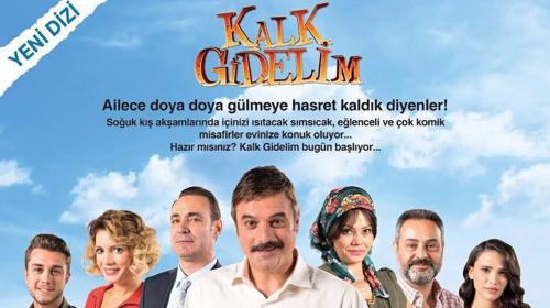 TRT1'in yeni dizisi 'Kalk Gidelim' başladı