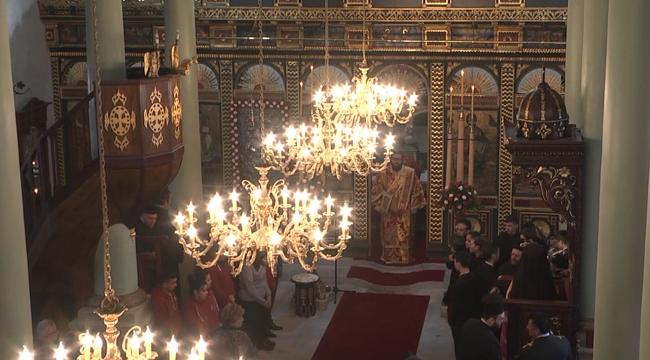 Aya Yorgi Kilisesi yeniden ibadete açıldı