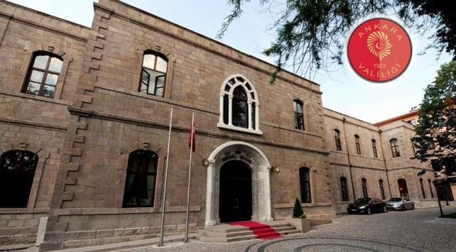 Ankara Valiliğinden LGBT etkinliklerine yasaklama