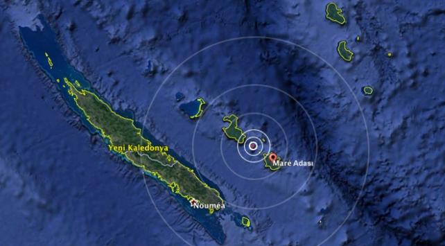Yeni Kaledonyada 7,0 büyüklüğünde deprem