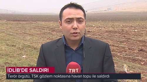 PKK/PYDli teröristler TSKnın gözlem noktasına saldırdı