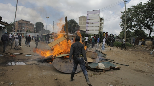 Kenyada muhalifler seçimin iptalini istiyor