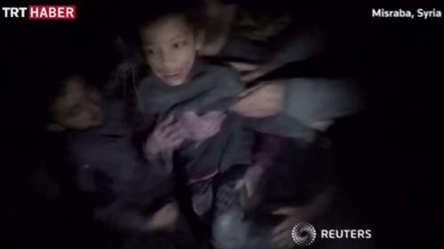Suriyede mucize kurtuluş