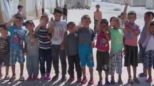 Suriyeli çocuklar Harrandaki konteyner kentte huzuru ve kardeşliği buldu