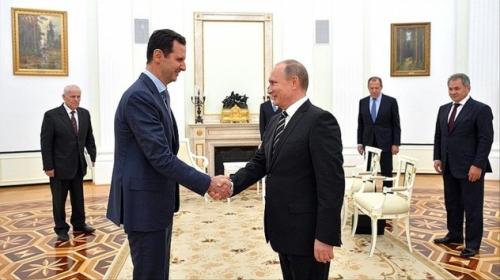 Putin ile Esed Rusyanın Soçi kentinde biraraya geldi