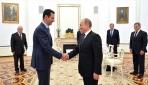 Putin ile Esed Rusya'nın Soçi kentinde biraraya geldi
