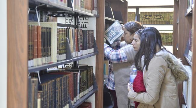 Güneydoğunun en büyük kütüphanesi Mardinde açıldı