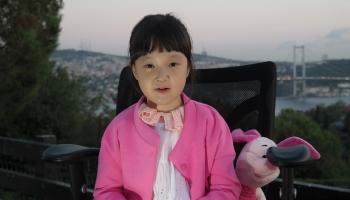 Çocuk Ayla, biriktirdiği paralarını UNICEFe bağışladı