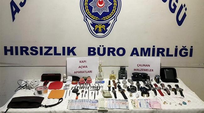 Gürcistandan hırsızlık için geldiler İzmirde yakayı ele verdiler